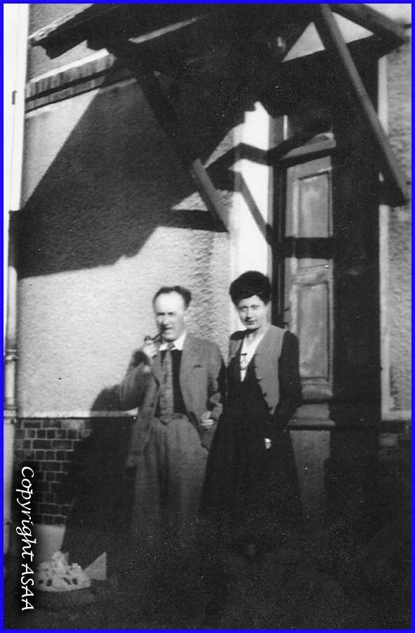 Jean Crouet et sa femme