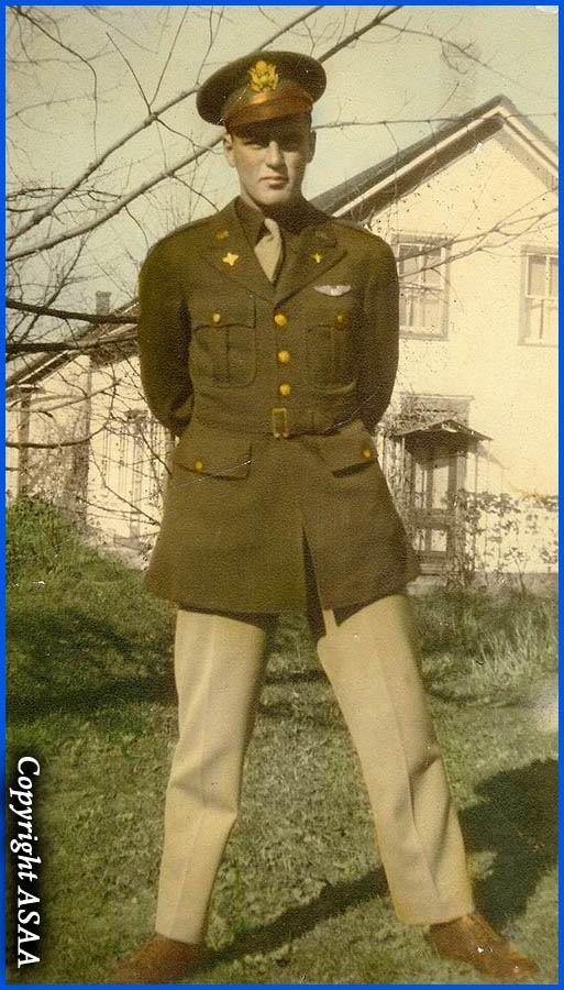 1st Lt. Everett G. HANSON Jr in 1943