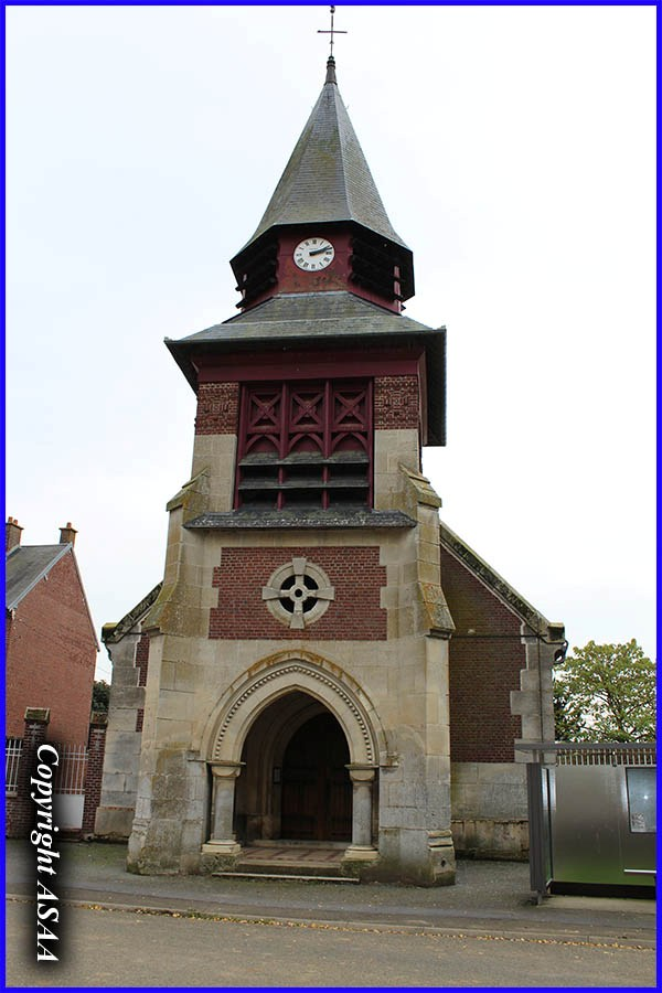 Le Ployron - The church