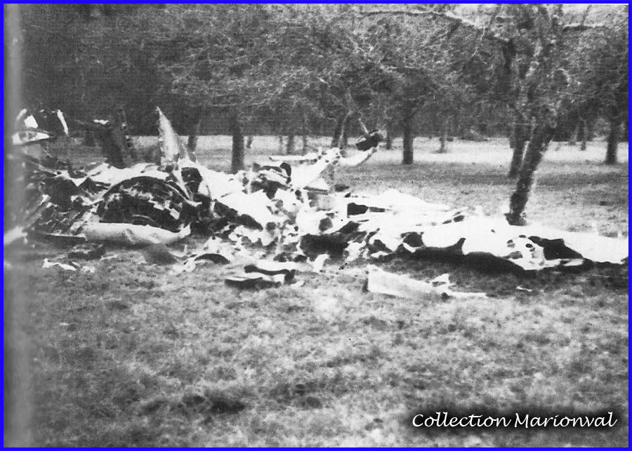 "Mello - Site du crash du B-24 # 42-95280 ""Square Dance"""