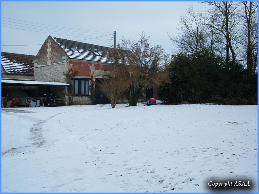 Sacy-le-Grand - The property of Dr Cache today