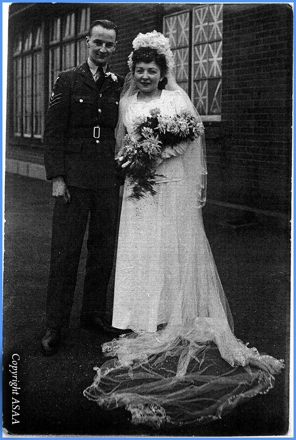 Wedding of Sgt. A.W. Offer