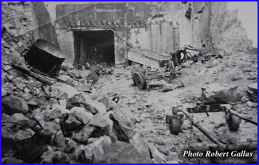 Saint Leu d'Esserent - Quarry of the Couvent - September 1944