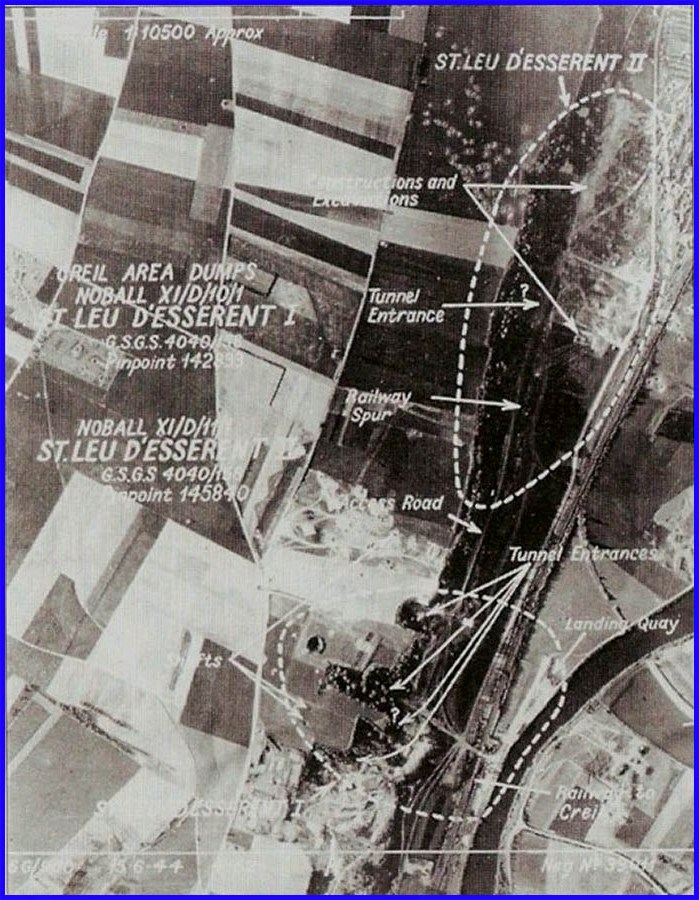 Saint Leu d'Esserent - June 1944