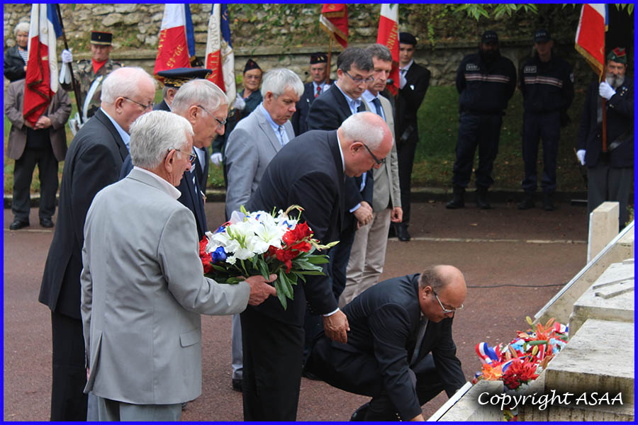 The laying of wreaths