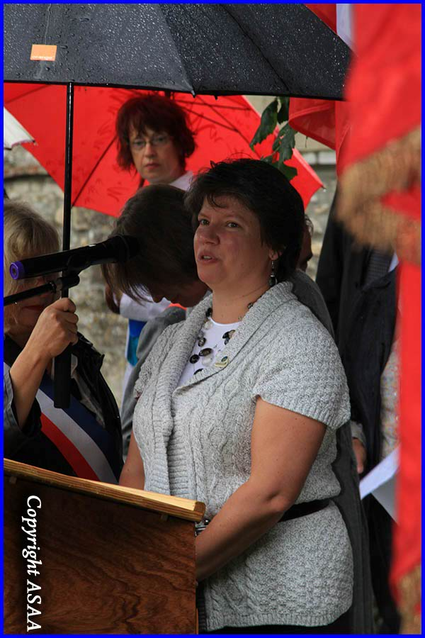 Ully Saint-Georges - Speech of Annette Siverling, niece of S/Sgt. Richard R. Giersch