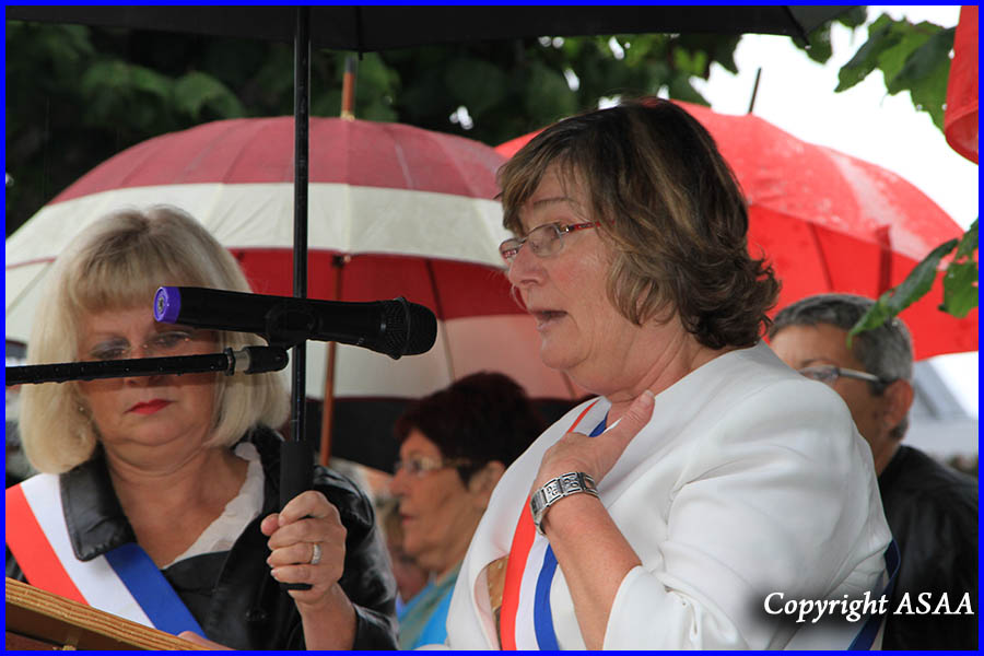 Ully-Saint-Georges - Speech of Mme Nicole Robert
