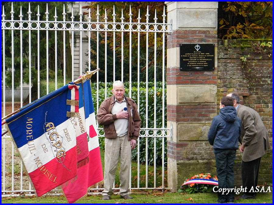 Chateau de La Borde - Tribute to 2nd Lt. Warren A. Thompson